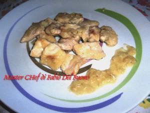 Bocconcini Petto di Pollo al Master Chef di Fabio