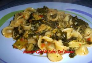 Orecchiette con Broccoli e Pomodori Secchi Sottolio