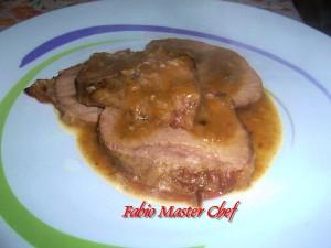 Roast Beef su Vellutata di Funghi