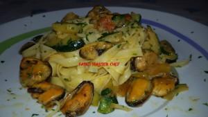Bavette con Cozze e Zucchine_Fotor