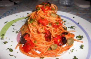 Spaghetti Integrali alla Puttanesca_Fotor