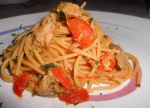 Spaghetti Integrali con Cuore di Carciofi_Fotor