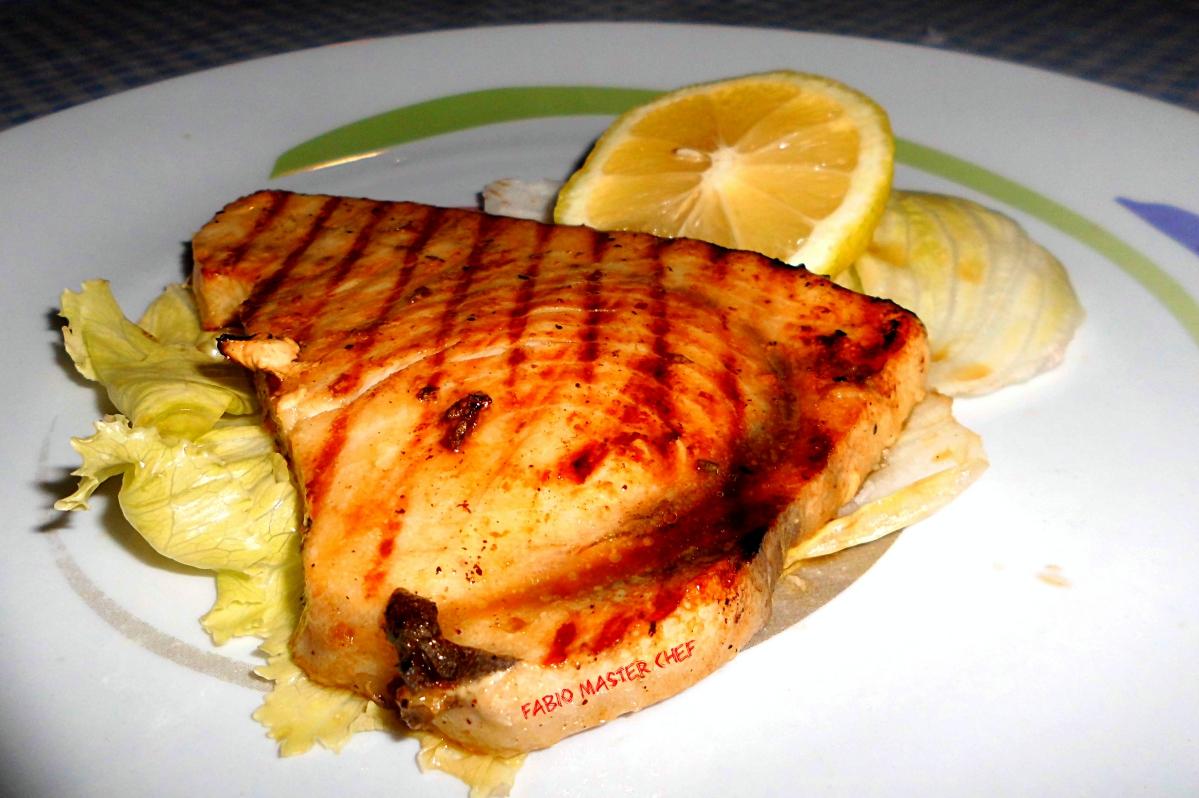 Tonno fresco arrostito con salsa di soia fabio master chef - Cucinare tonno fresco ...